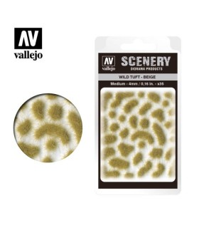 Scenery Wild Tuft Beige 4mm 0,16 in 35u. SC408