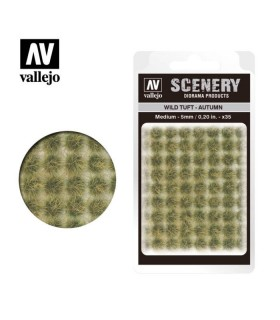 Scenery Wild Tuft Autumn 5mm 0,20 in 35u. SC409