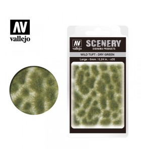 Scenery Wild Tuft Dry Green 6mm 0,24 in 35u. SC415