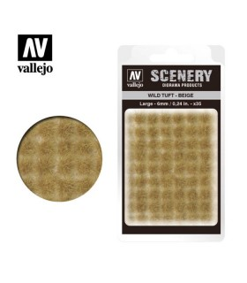 Scenery Wild Tuft Beige 6mm 0,24 in 35u. SC420