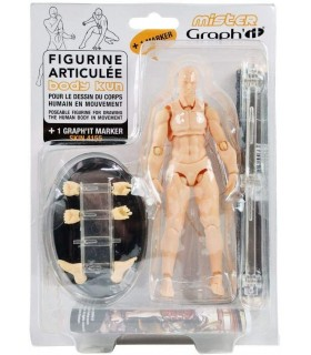 Corpo articulado GI 00230 figura articulada