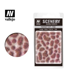 Scenery Fantasy Tuft Pink 6mm 0,24 in 35u. SC433