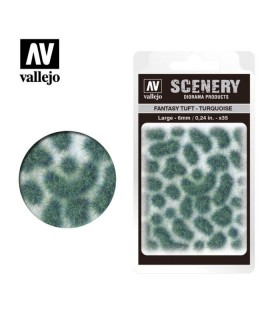 Scenery Fantasy Tuft Turquoise 6 mm / 0,24 in SC432