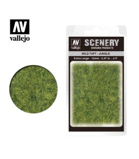 Vallejo Scenery Wild Tuft Jungle 12mm/0,47 in. 35 u.