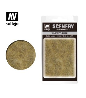 Vallejo Scenery Wild Tuft Beige 12mm/0,47 in. 35 u.