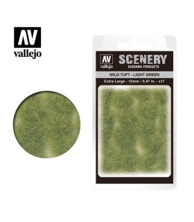 Vallejo Scenery Wild Tuft Light Green 12mm/0.47 in. 35 u.