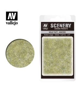 Vallejo Scenery Wild Tuft Winter 12mm/0.47 in. 35 u.