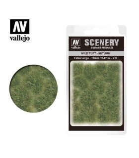 Vallejo Scenery Wild Tuft Autumn 12mm/0.47 in. 35 u.