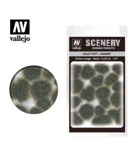 Vallejo Scenery Wild Tuft Swamp 8mm/0.32 in. 35 u.
