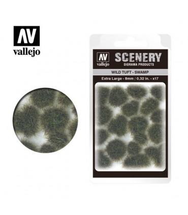 Vallejo Scenery Wild Tuft Swamp 8mm/0.32 in. 35 u.