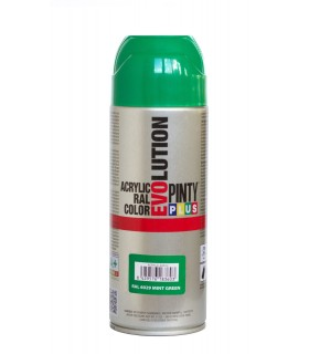 Pintura en spray Pintyplus Evolution acrílica Mate Negra 400ml
