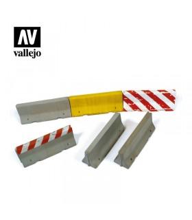 Conjunto de barreiras de cimento panorâmicas de Vallejo