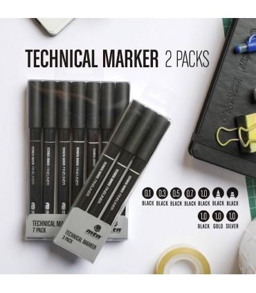 MTN Technical Marker Pack 3 Metal
