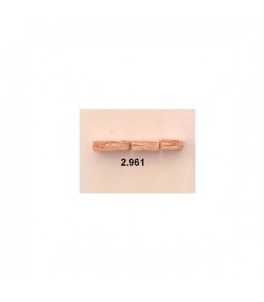 Pedra de mosaico rosa Cuit 4x10mm
