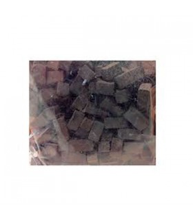 Cuit Stone mosaic 6x6x12mm Black 150g