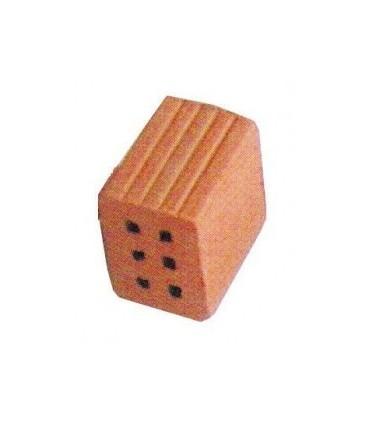 Cuit 2/3 de tijolo oco 6 furos de 1 KG