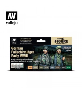 Set German Fallschirmjäger Early WWII 70185