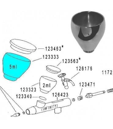 Depósito 2ml 123323 para Infinity, Evolution y Colani