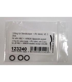 O-ring for valve body 3u. 123240