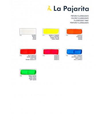 Pintura fluorescente La Pajarita 75ml