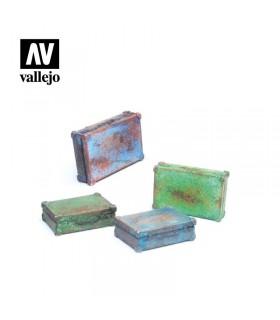 Vallejo Scenics Maletines metálicos