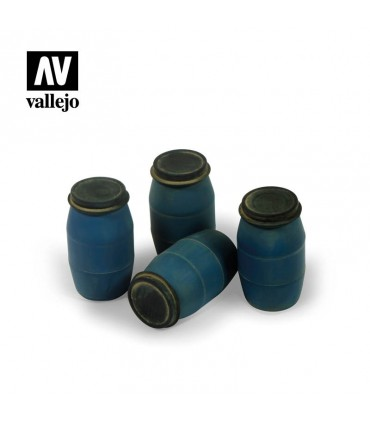 Vallejo Scenics Bidones de plástico modernos (Nº1)