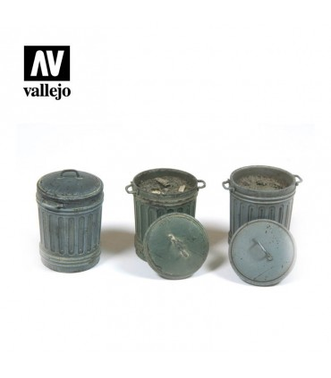 Vallejo Scenics Cubos de basura (Nº1)