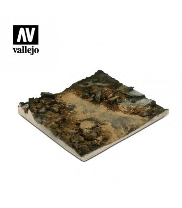 Vallejo Scenics Base escombros