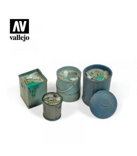 Vallejo Scenics Cubos de basura (Nº2)