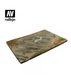 Vallejo Scenics Base aérea de madera