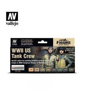 Set Vallejo WWII US Tank Crew 70186