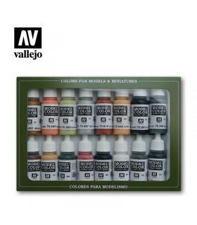Set de Colores WWII Alemán Vallejo 70107