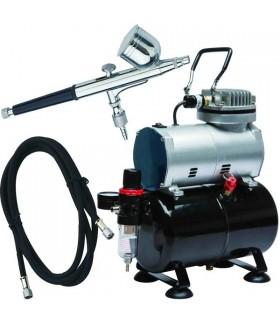 Airbrush Set Dismoer Compressor D-80