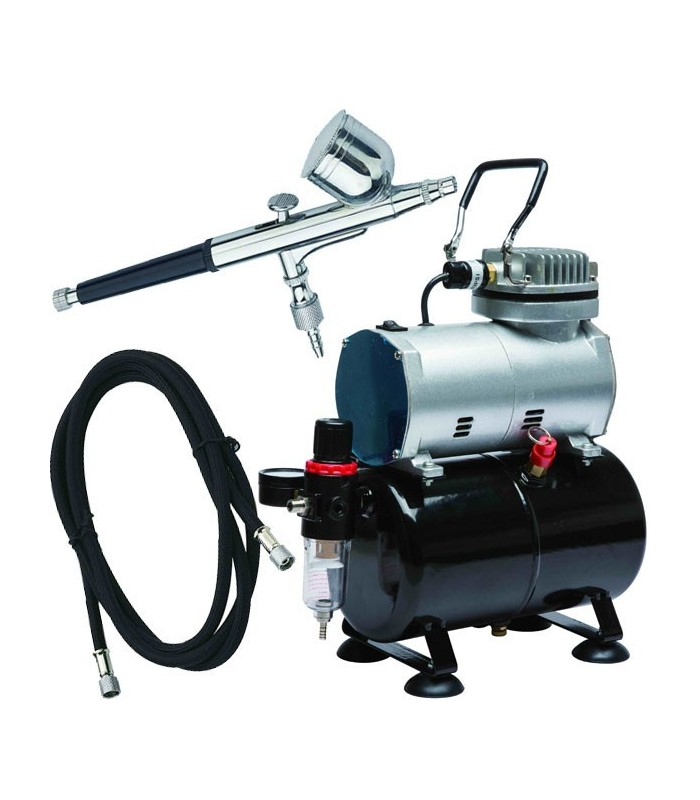 Airbrush Set Dismoer Compressor D-80