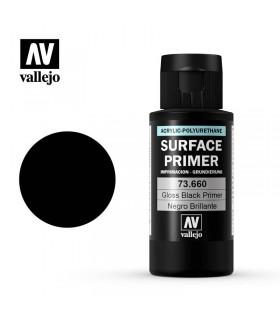 Surface Primer Negro brillante 60ml Acrylicos Vallejo