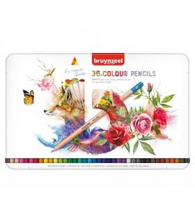 Estuche de 36 lápices colores Expression Bruynzeel