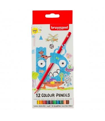 Estuche de 12 lápices de color Kids