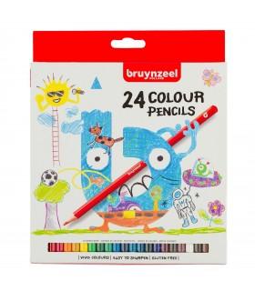 Estuche de 24 lápices de color Kids Sakura-Bruynzeel