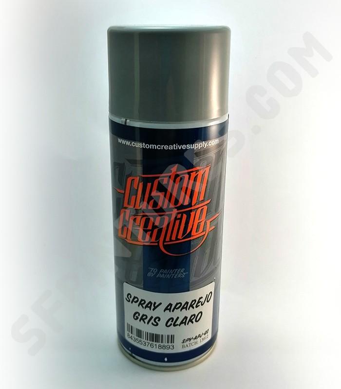 Spray aparejo Custom Creative Gris 400ml