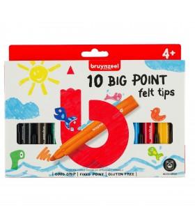 Set de 10 rotuladores Kids punta gruesa