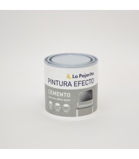 Pintura efecto cemento La Pajarita 250ml.