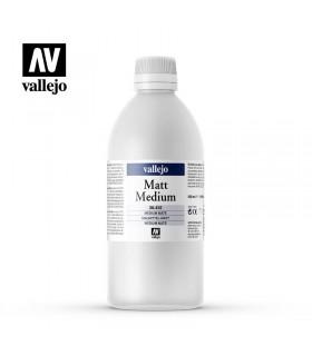 Médium acrílico mate con resistencia U.V. 500ml.