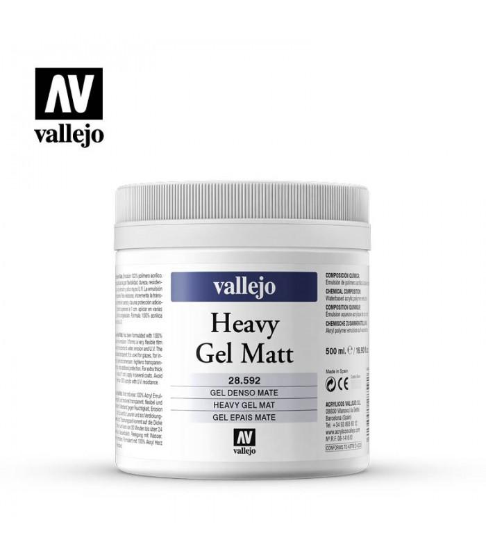 Gel Denso Mate Vallejo 500ml. 28592