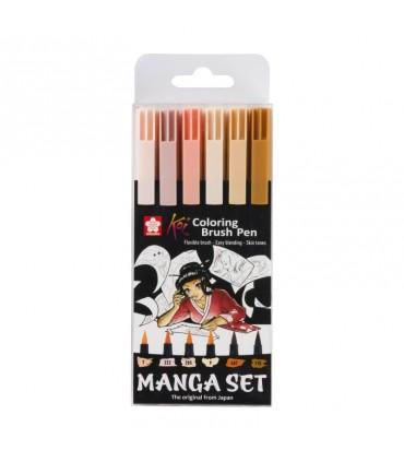 Set Manga Rotuladores Koi Colors SA310