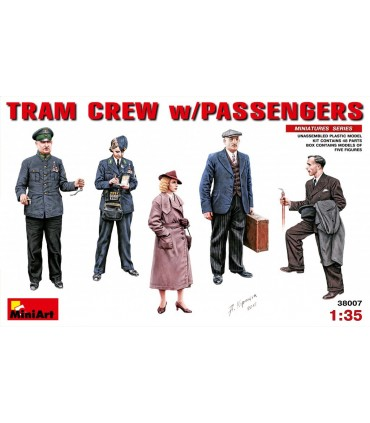 MiniArt figuras civiles tranvía 1:35 38007