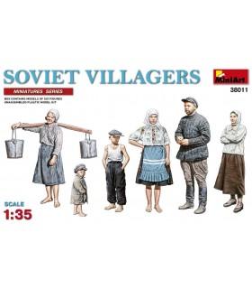 MiniArt figuras civiles soviéticos 1:35 38011