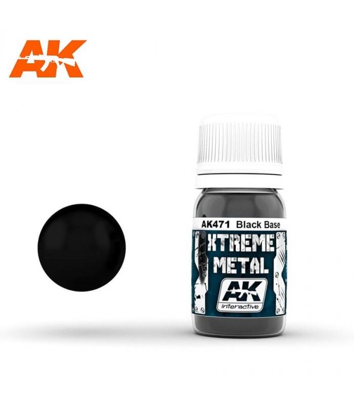 Xtreme metal base negra 30ML