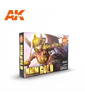 Set AK Non Metallic Metal Acero set 6 u.