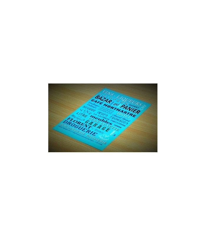 Matho Calcas Rótulos de Tiendas Francesas 1/35 35117
