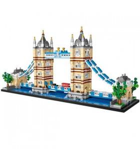 Tower Bridge Loz 1455 Piezas 1026